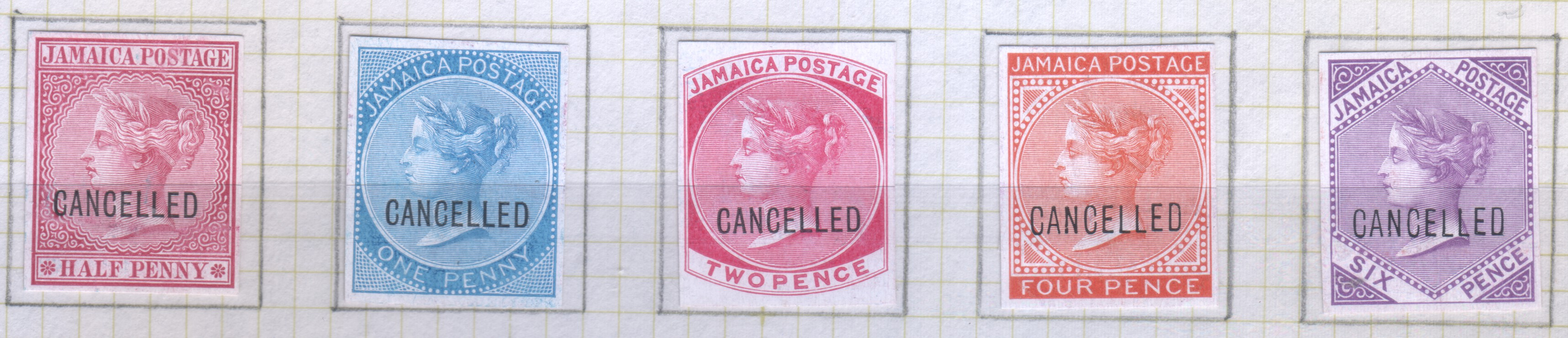 Jamaika 1932 Kgv 2d Coco Palms Sg 111 Gebraucht Briefmarken